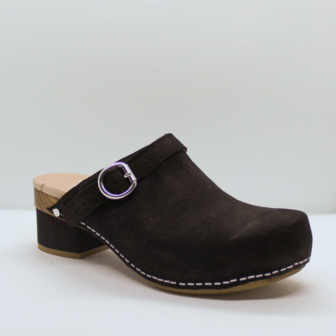 Leather Clog