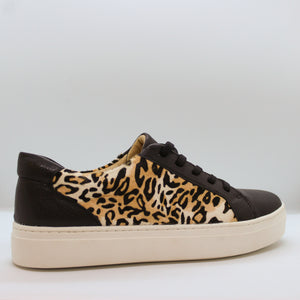 Leopard Leather Sneaker - Olive Street