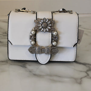 Crystal Buckle Crossbody
