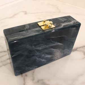 Blue Marble Square Clutch