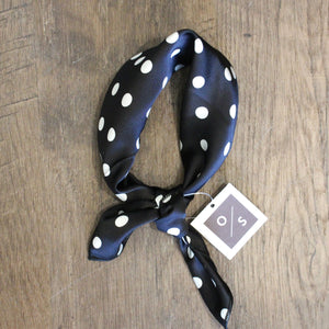 Polka Dot Neck Scarf