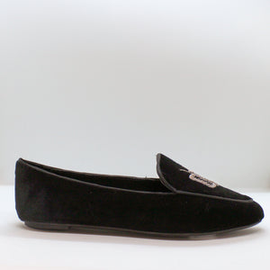 Butterfly Velvet Loafer