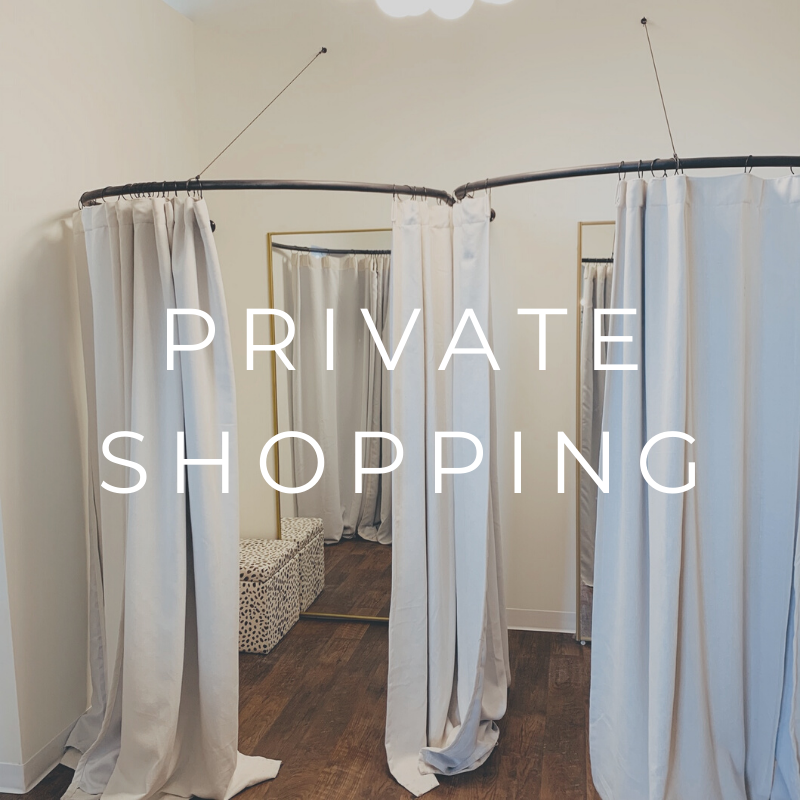 Private Shopping Appointment - Olive Street