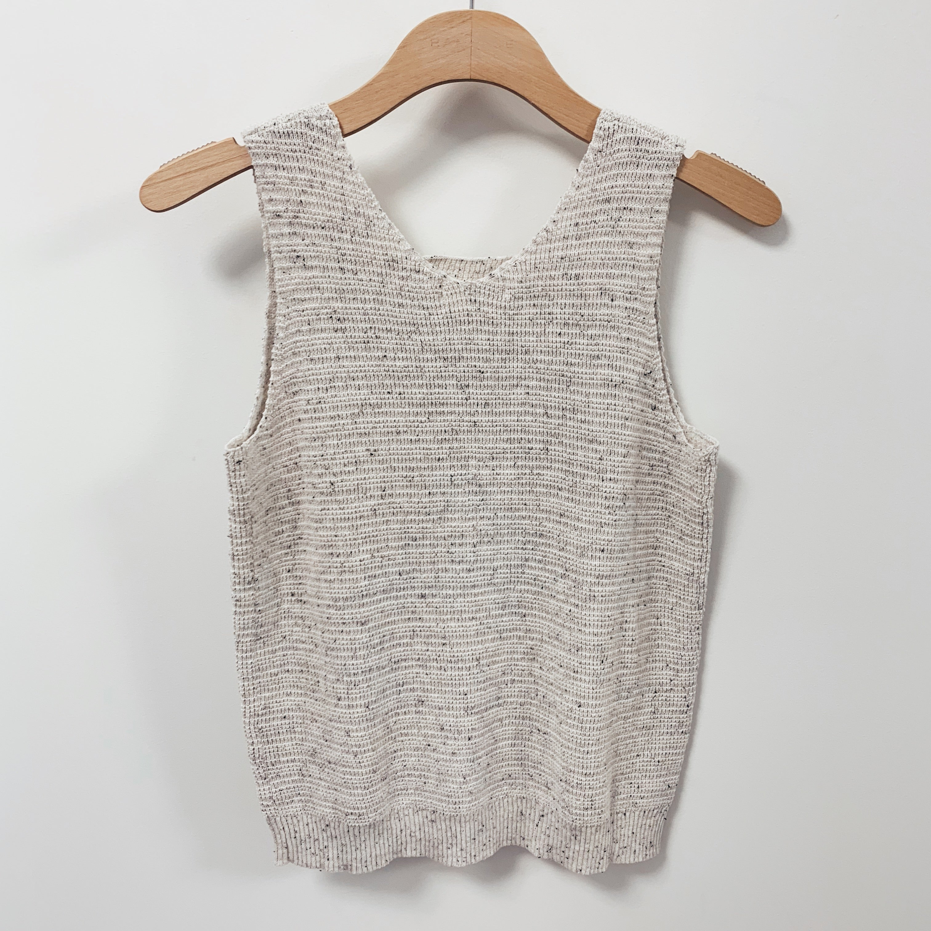 Flecked Sweater Tank - Olive Street