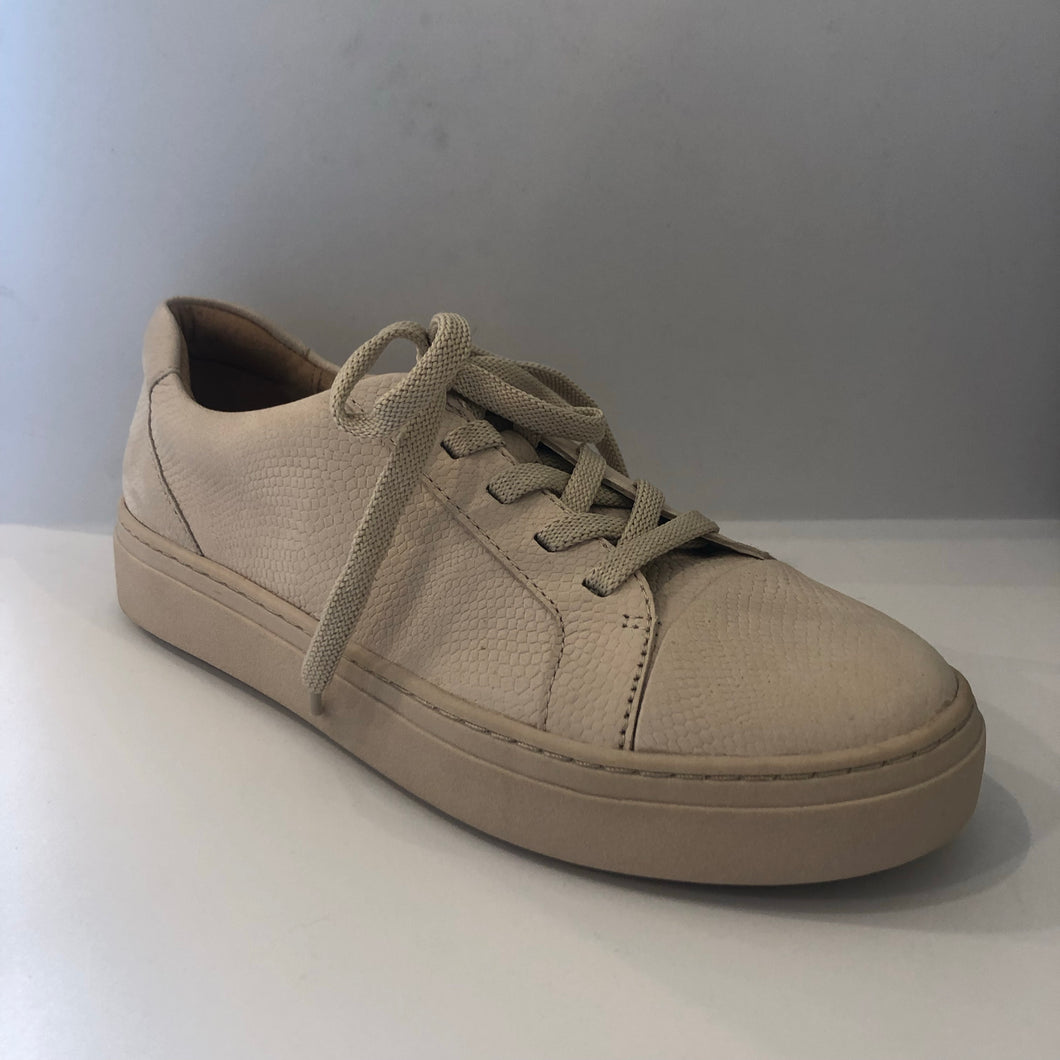 Texture Leather Sneaker