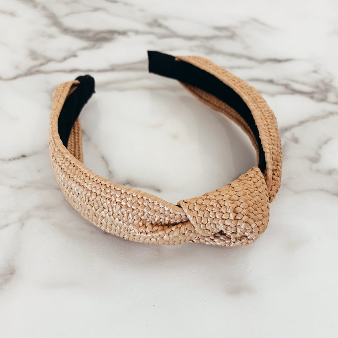 Woven Knot Straw
