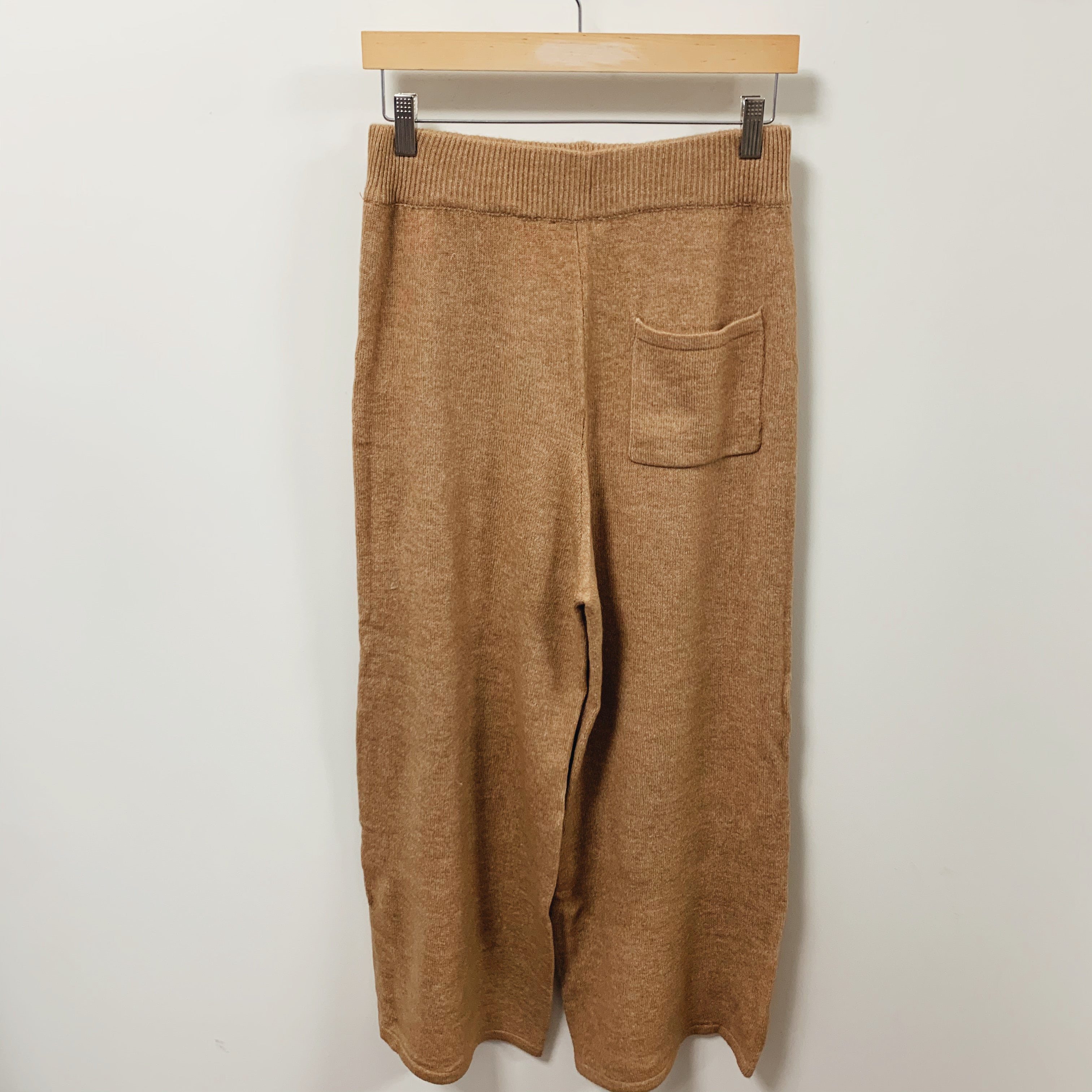 Knitted Wide Leg Pant