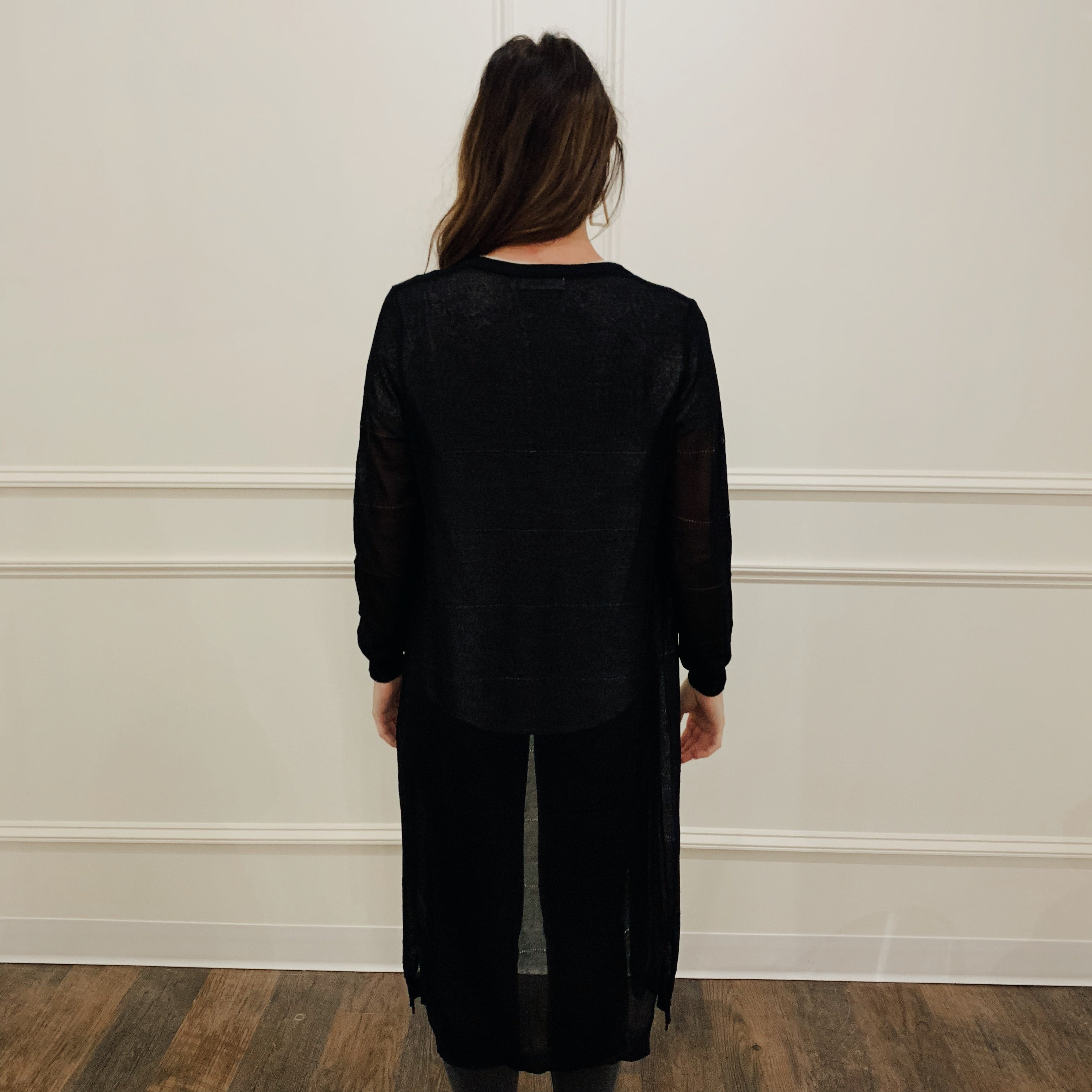 Sheer Duster Cardigan - Olive Street