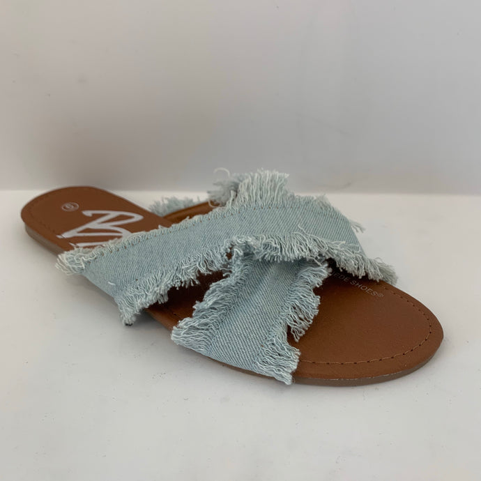 Light Denim Sandal