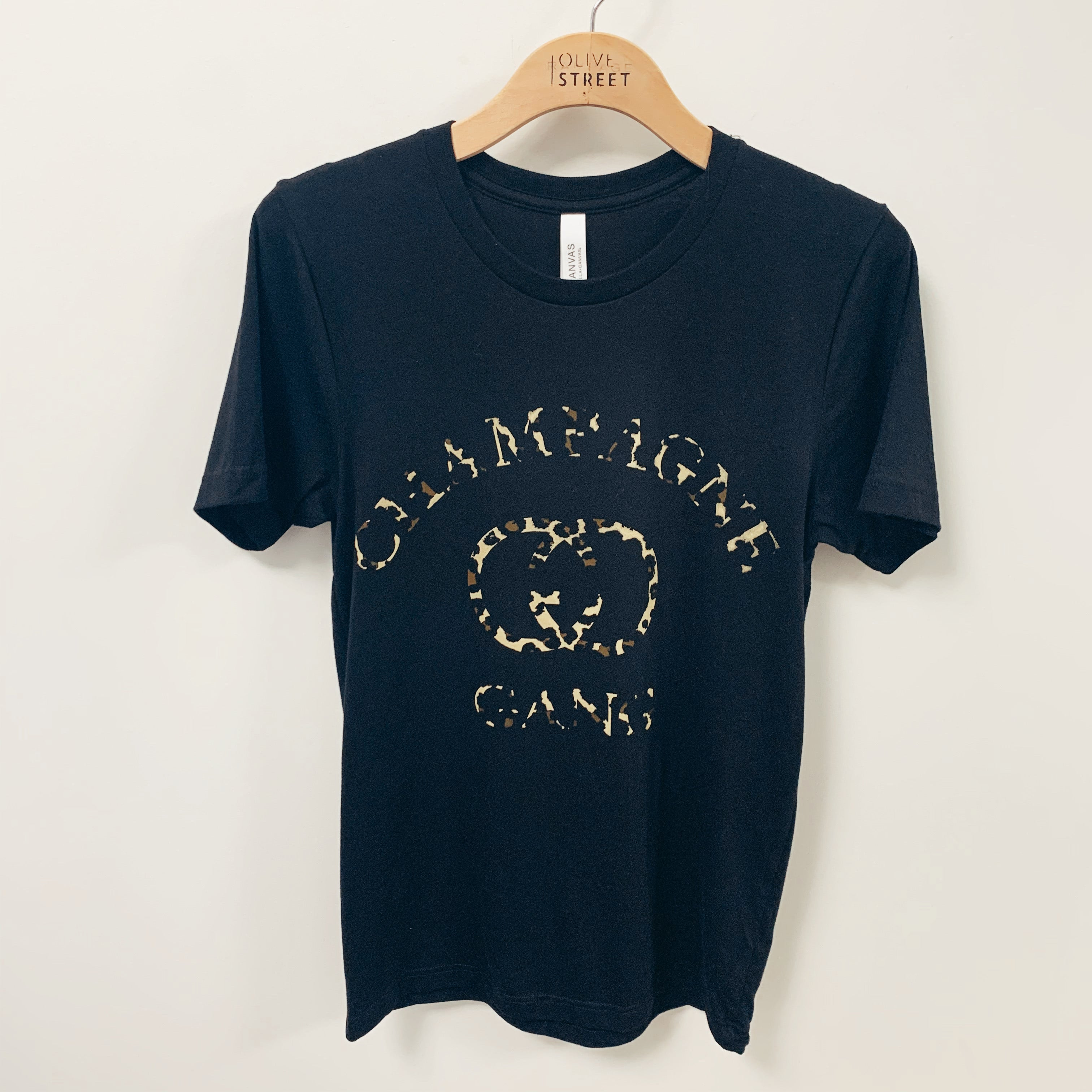 Champagne Gang Tee - Olive Street