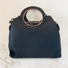 Round Handle Vegan Bag