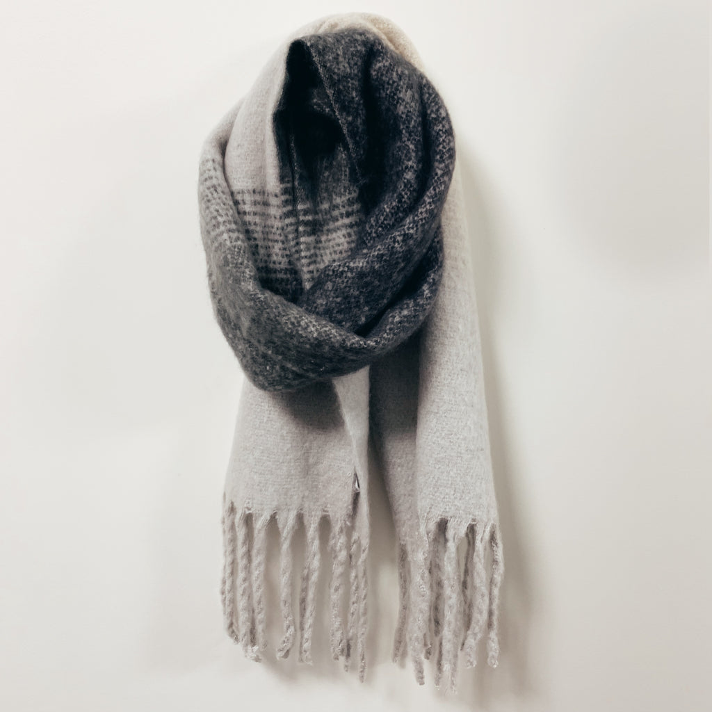 Ombre Stripe Scarf - Olive Street