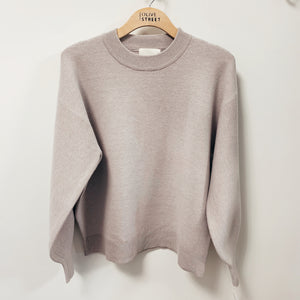 Balloon Sleeve Sweater - Olive Street