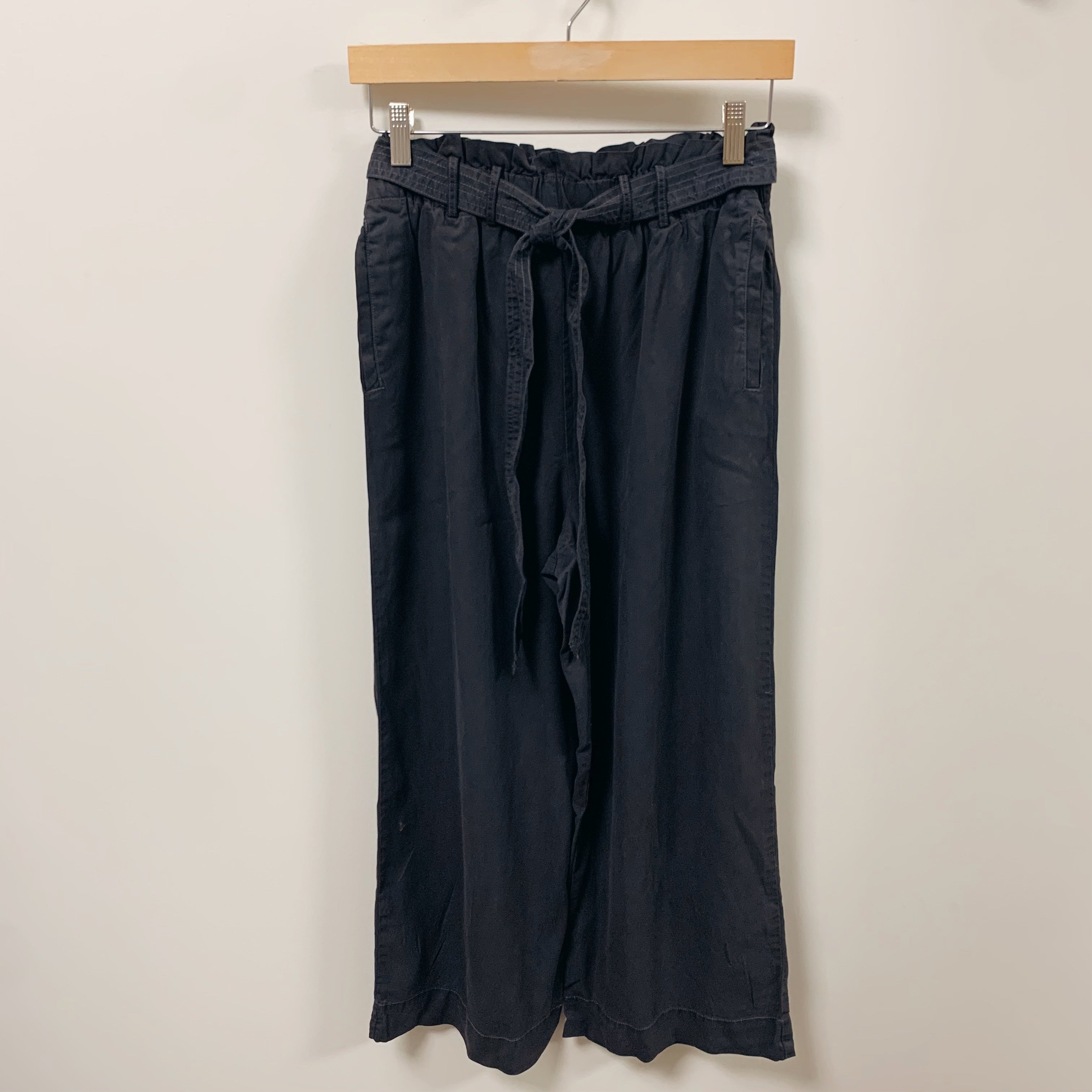 Washed Tencel Wide Leg Pant