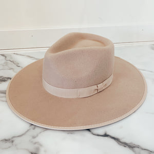Cream Wool Panama Hat - Olive Street