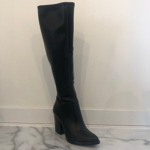 Tall Heeled Boot - Olive Street
