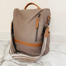 Stripe Sporty Backpack