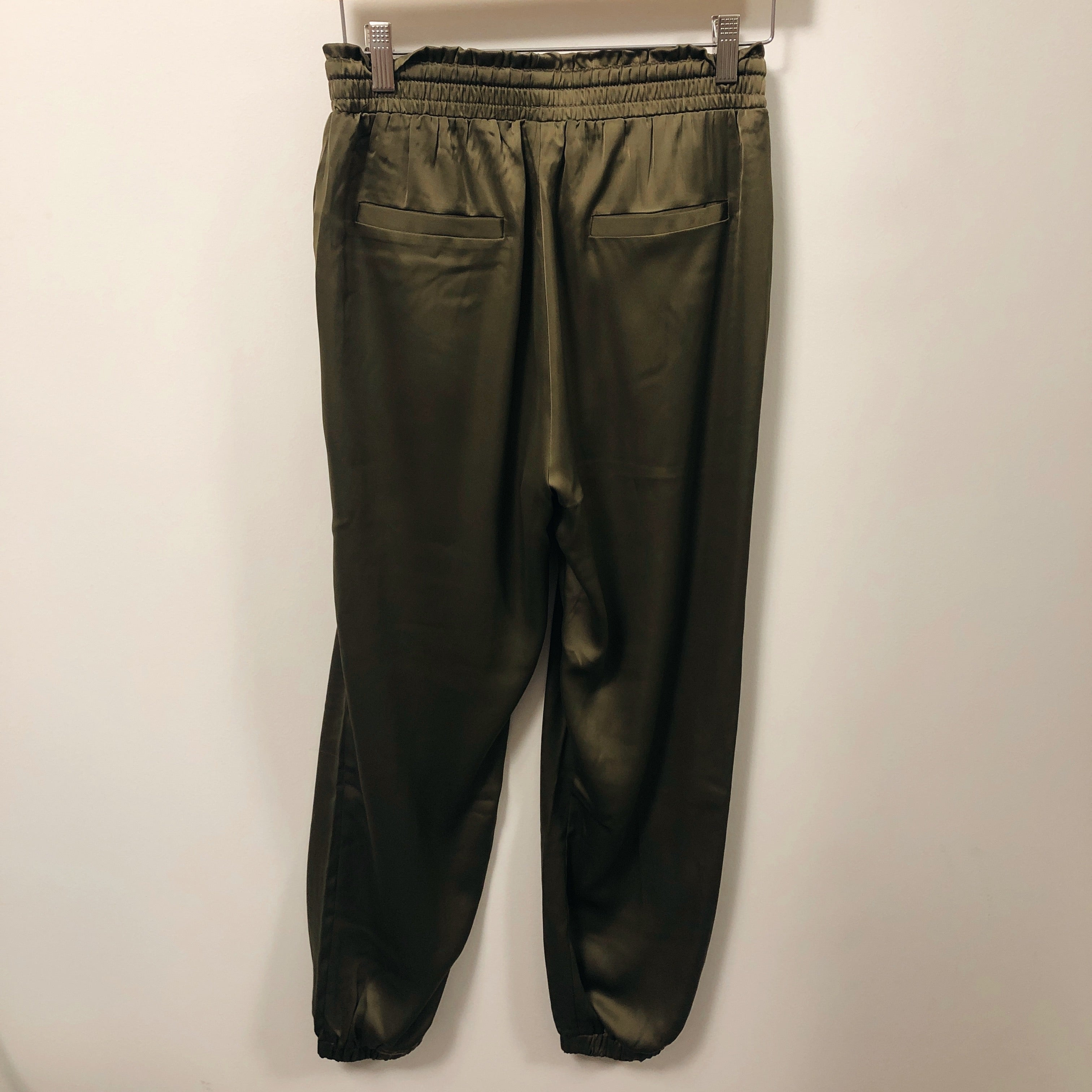 Solid Satin Joggers