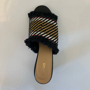 Basketweave Heel