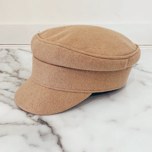 Camel Bakers Boy Hat - Olive Street