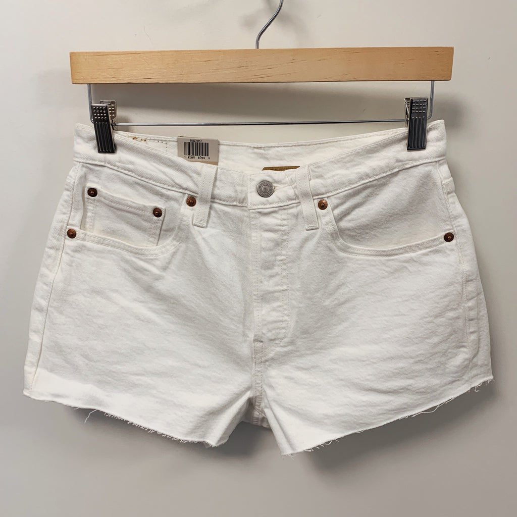 501 Original Short White - Olive Street