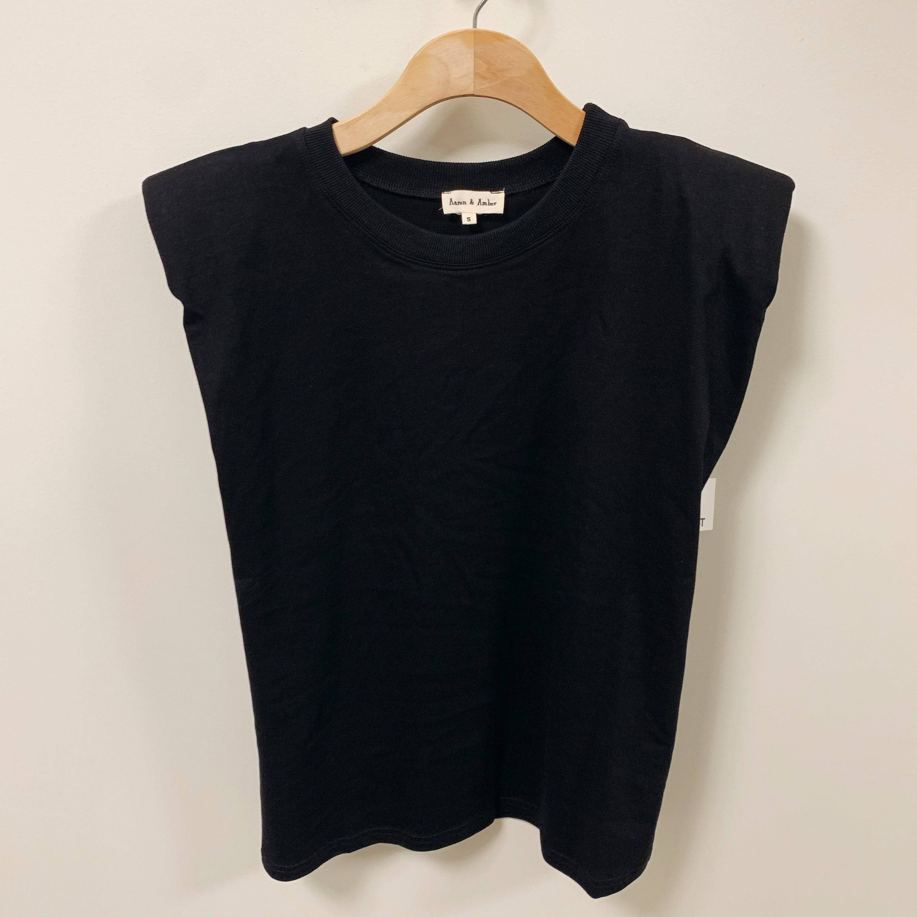 Power Shoulder Tee - Olive Street