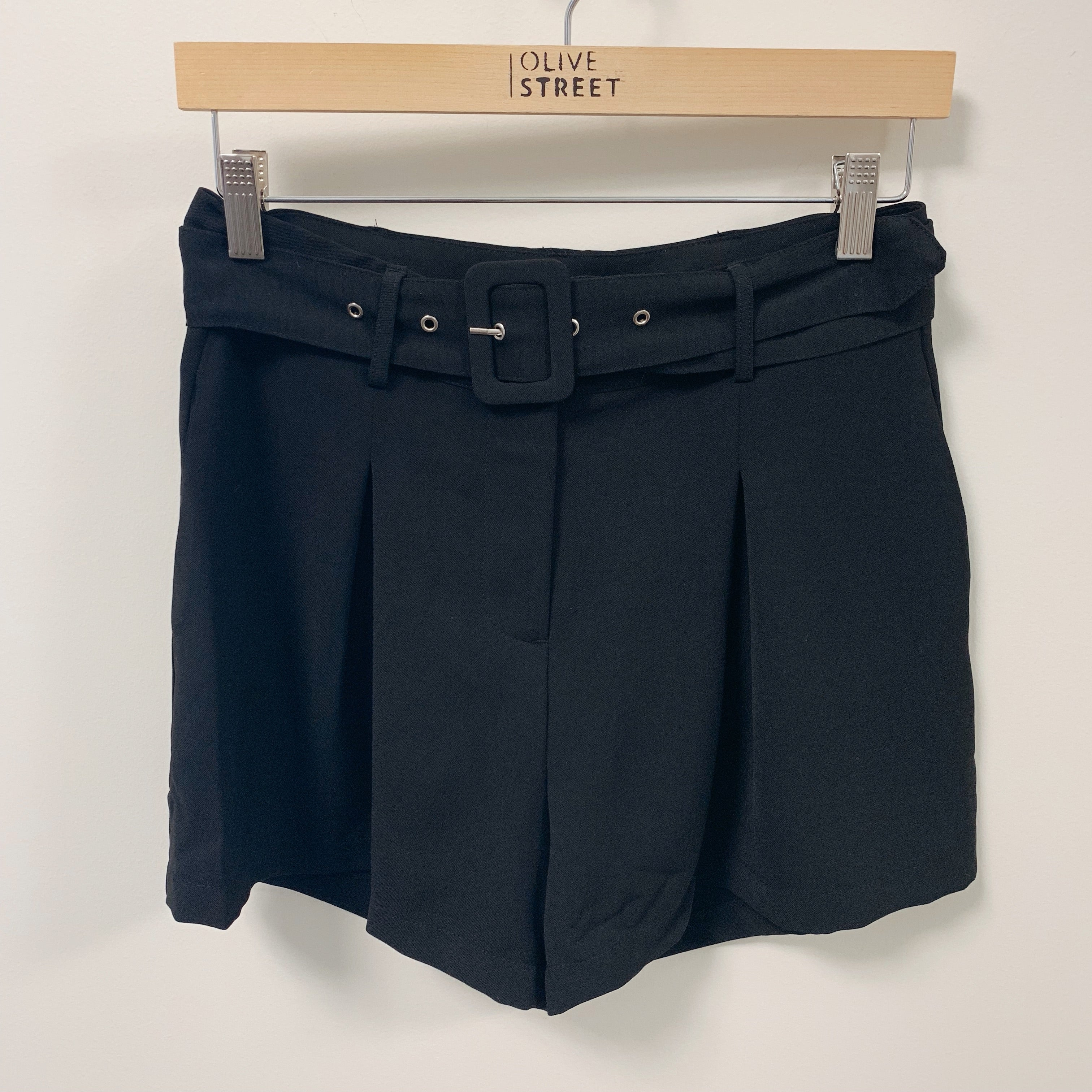 Front Buckle Shorts - Olive Street