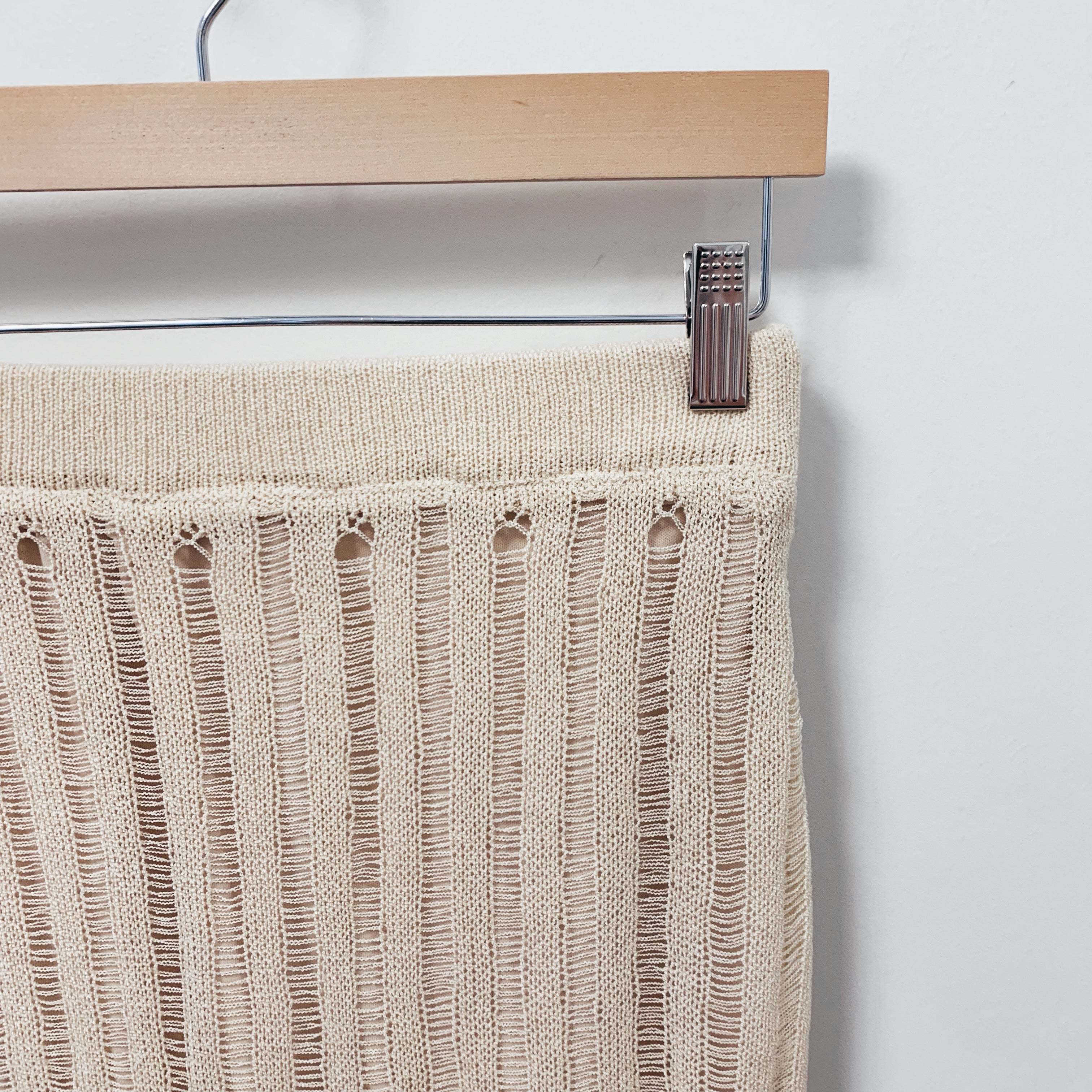Open Weave Knit Skirt - Olive Street