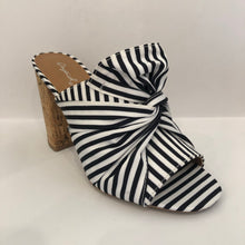Striped Bow Mule