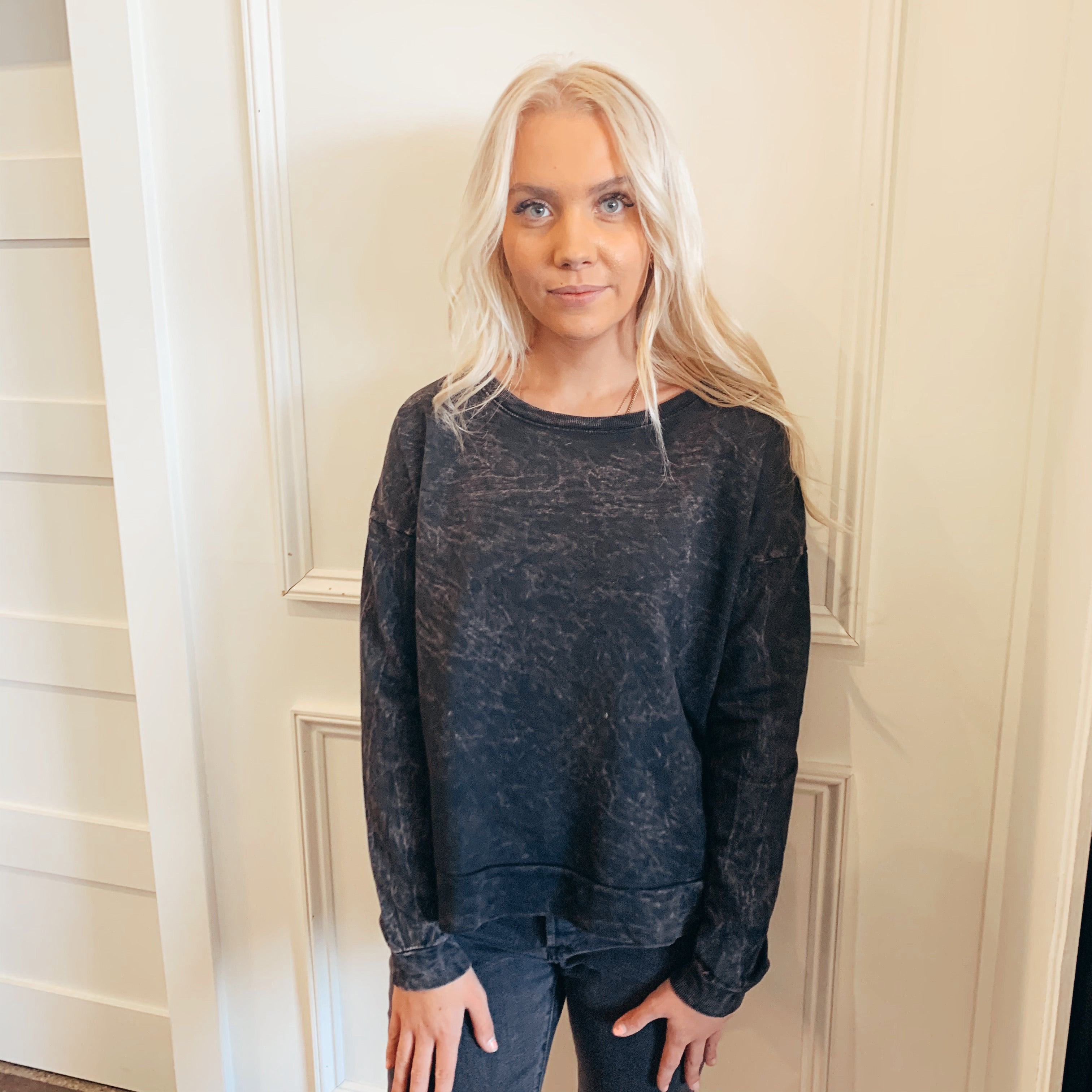 Mineral Wash French Terry Sweatshirt