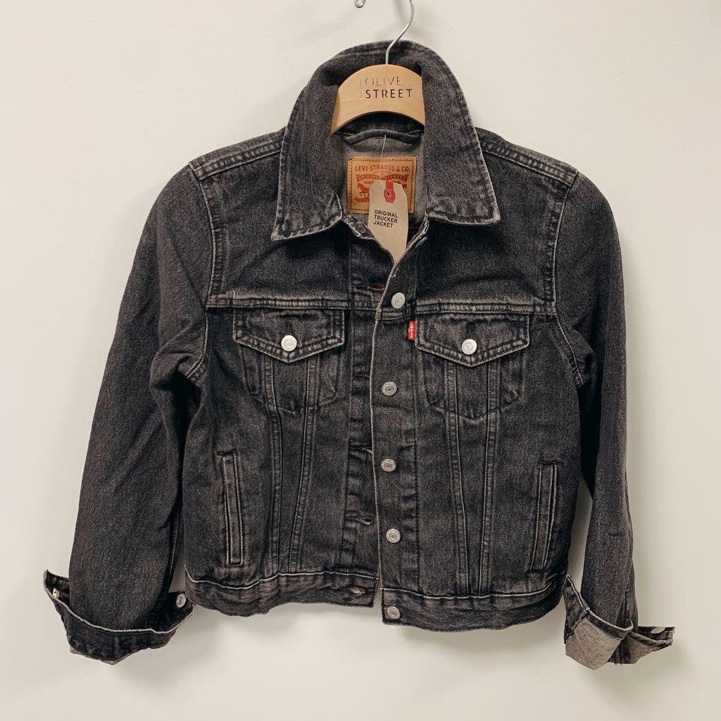 Original Trucker Denim Jacket - Olive Street