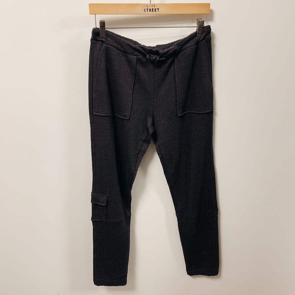 Linen French Terry Jogger - Olive Street