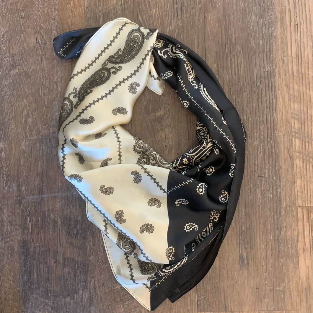 Colorblock Bandana