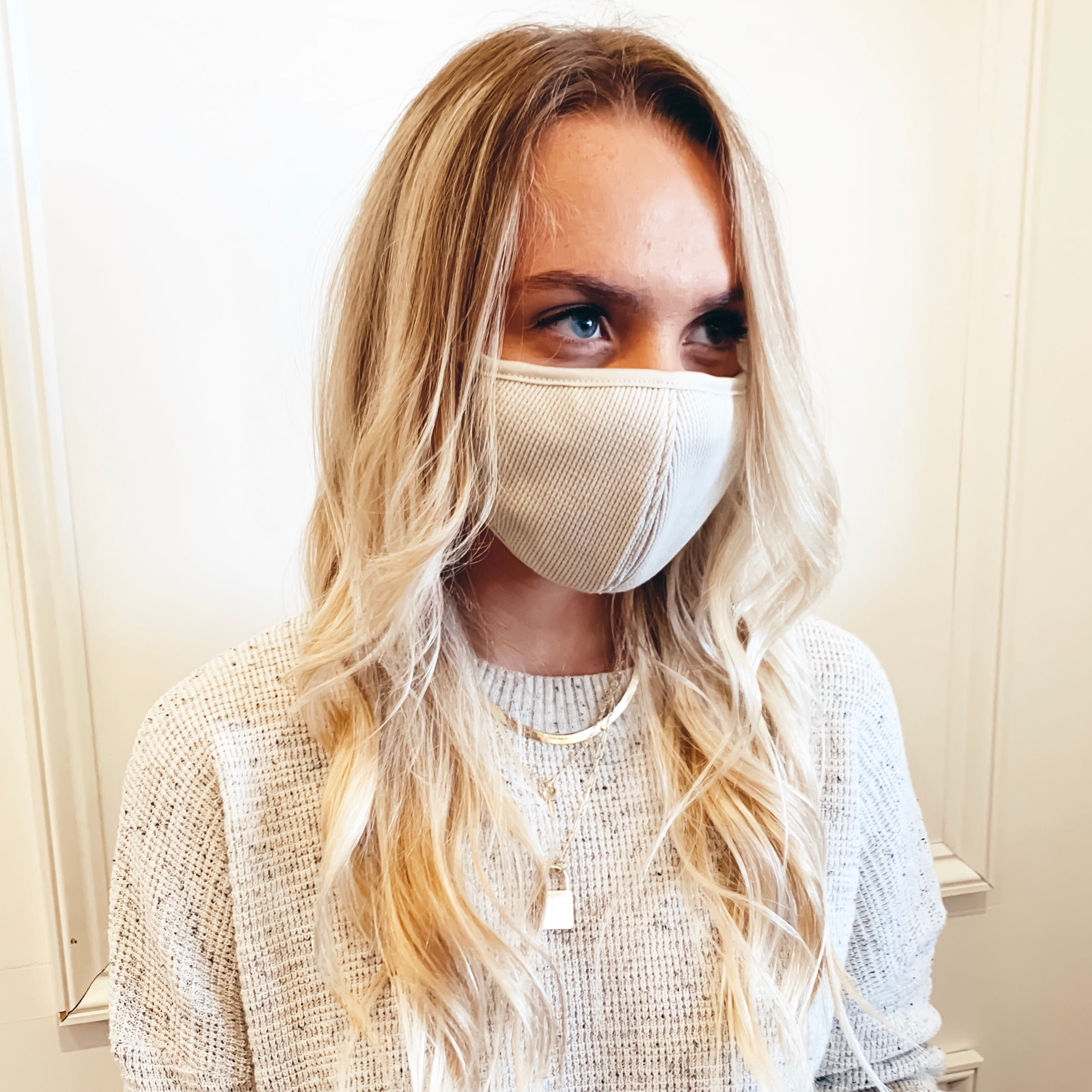 Washable Thermal Cotton Mask - Olive Street