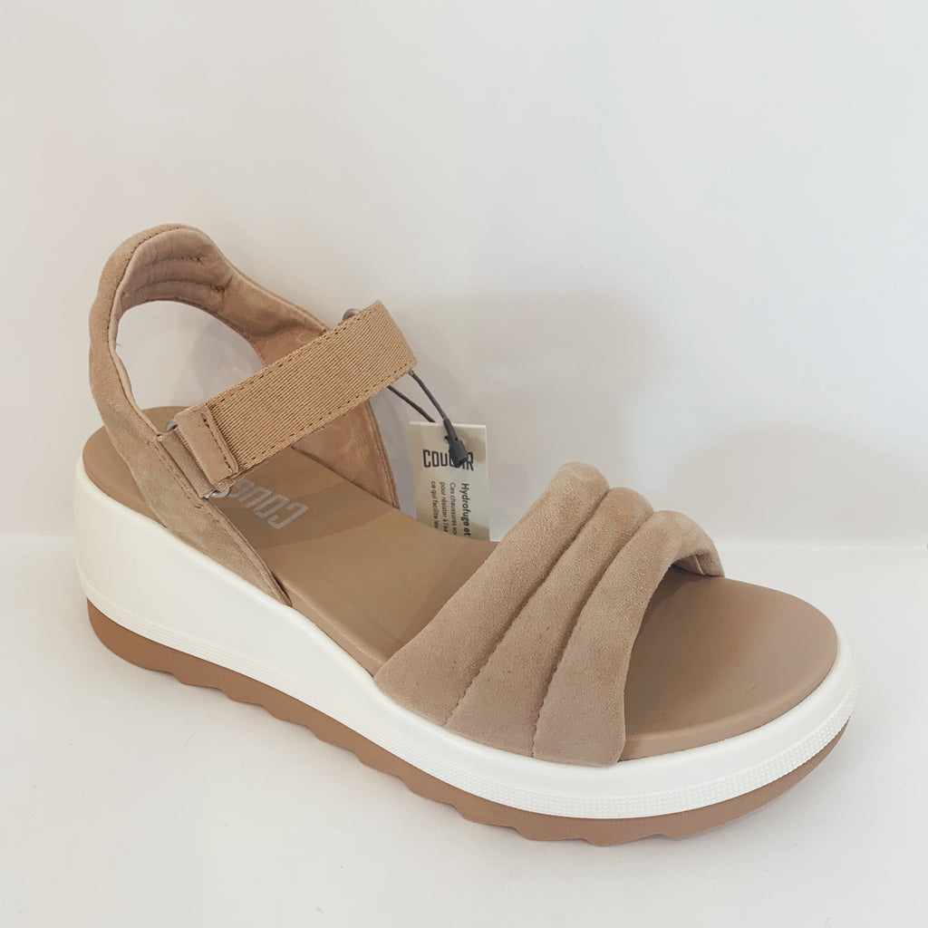 Honey Quilted Wedge - Olive Street