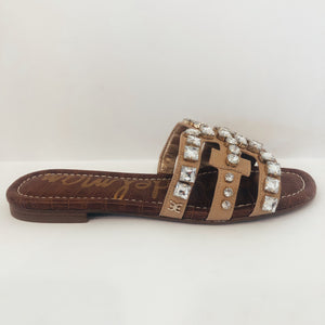 Bay Embellished Slide Sandal