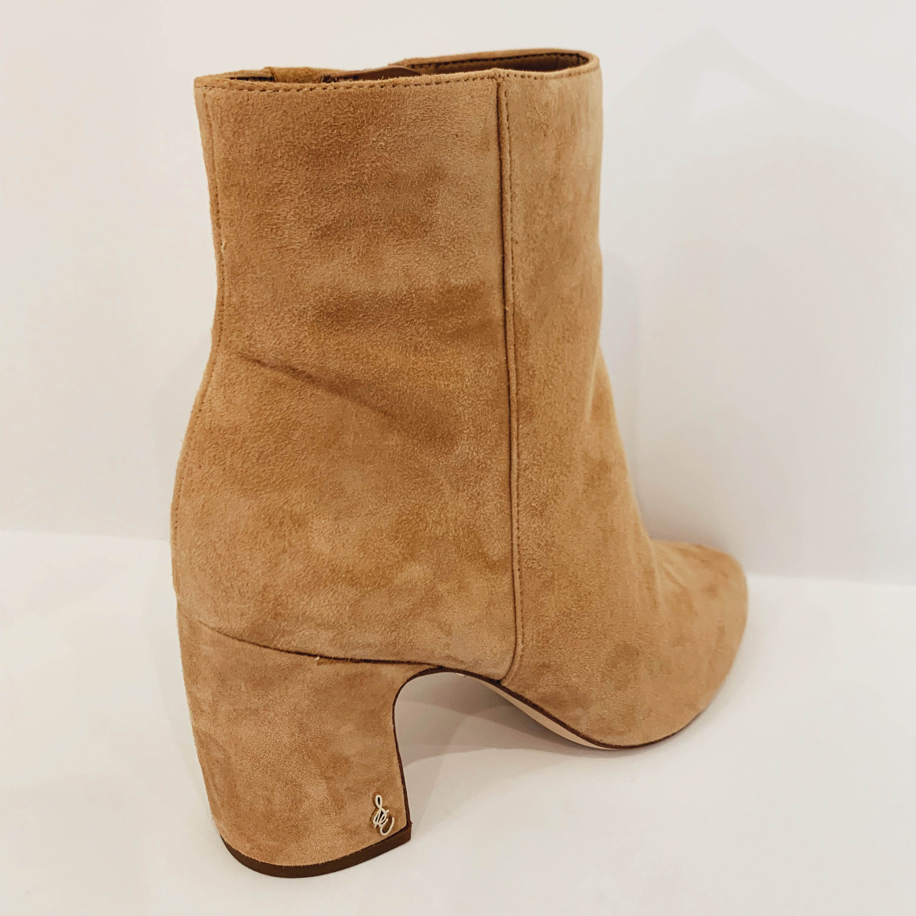 Camel Suede Bootie - Olive Street