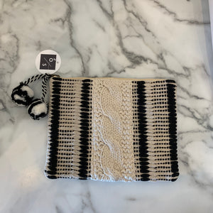 Woven Clutch - Olive Street