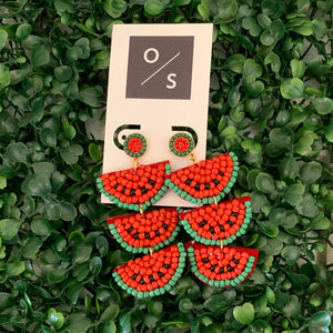 Watermelon Earrings - Olive Street