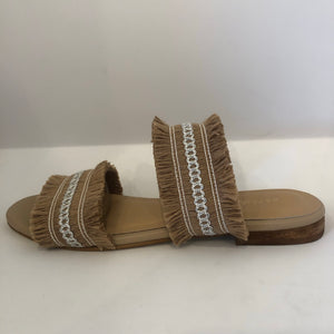 Double Frayed Sandal