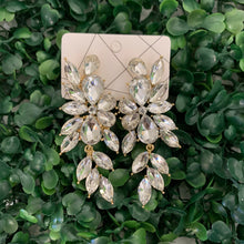 Crystal Drop Stud Earring - Olive Street