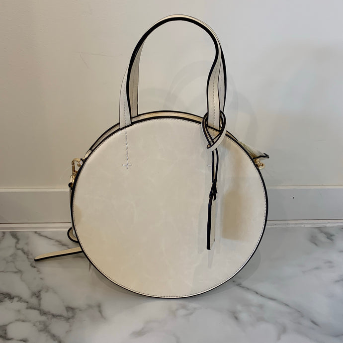 Top Handle Round Bag