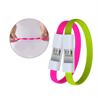Mini Micro USB Bracelet Charger Data Charging Cable Sync Cord Android Phone Portable Bracelet For Women . - satisfaction-365.com