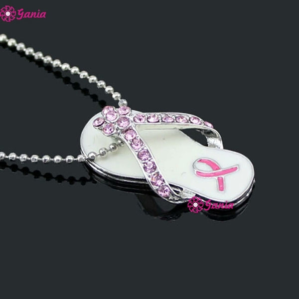 Cancer Awareness Necklace - satisfaction-365.com