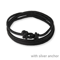 HOT  Alloy  Bracelet Multilayer Rope Bracelet for Women Men Friendship Bracelets High Quality - satisfaction-365.com
