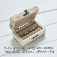 Personalized Gift Rustic Wedding Ring Bearer Box Custom Your Names and Date Engrave Wood Wedding  Ring Box - satisfaction-365.com