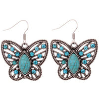 Top Selling Green  Butterfly  Earrings - satisfaction-365.com