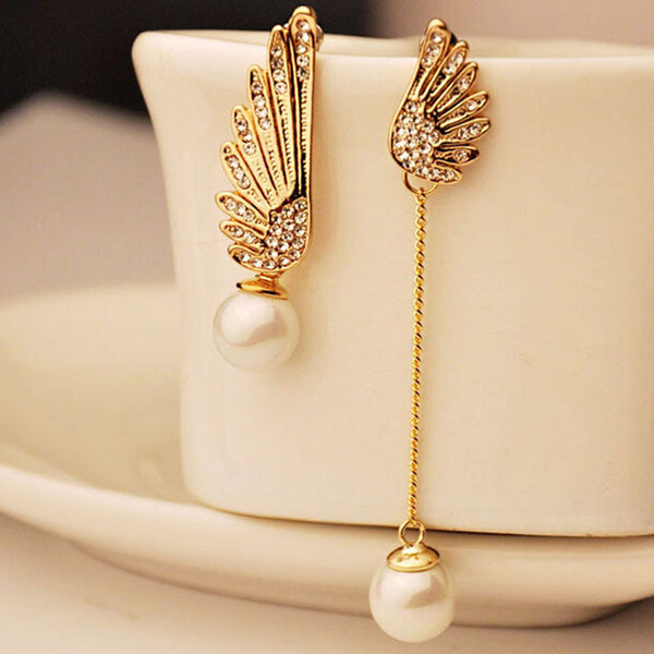 Women Hot Crystal Rhinestone Stud Dangle Earrings . - satisfaction-365.com