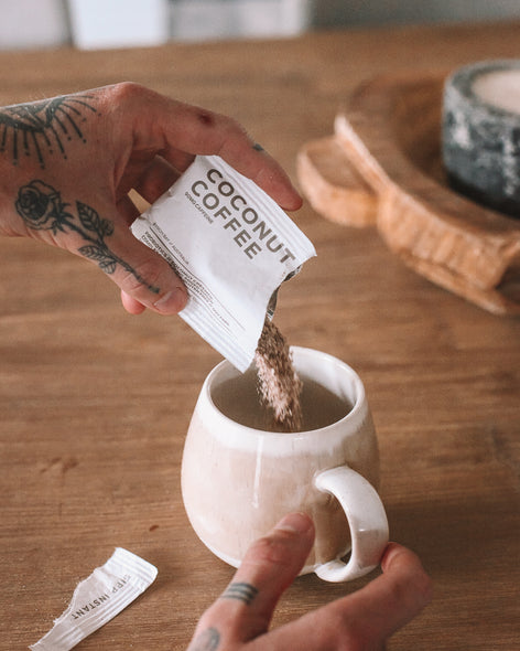 COCONUT COFFEE - SINGLE SERVE SACHETS