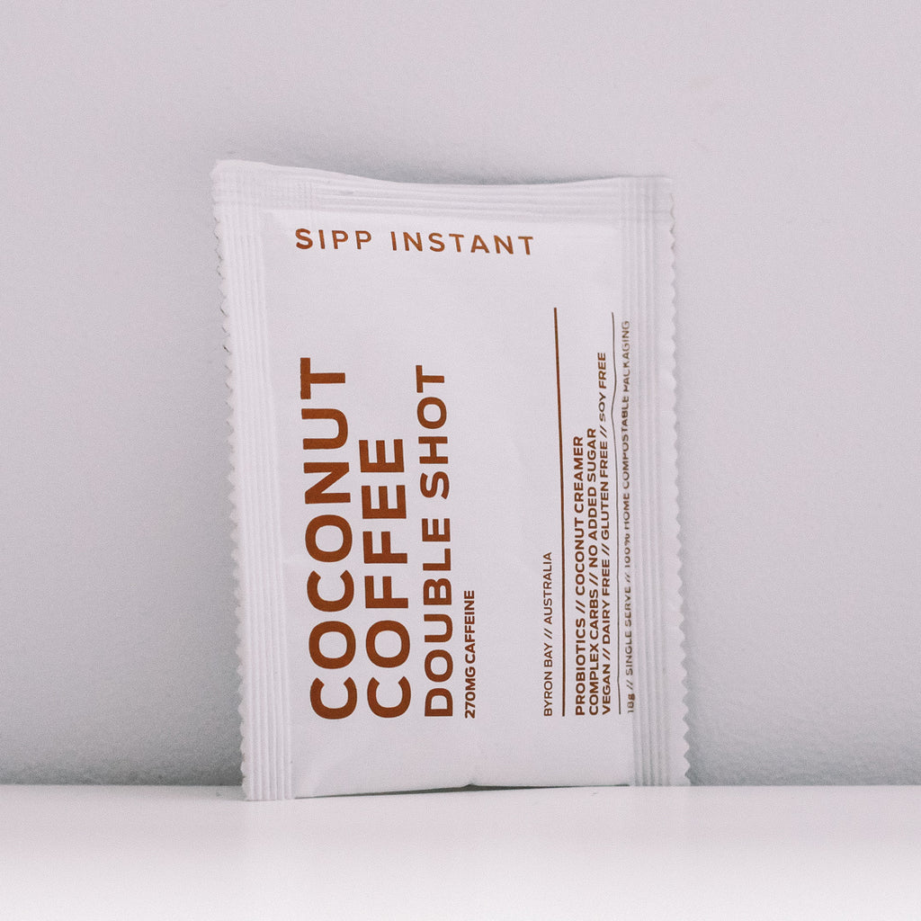 COCONUT COFFEE DOUBLE SHOT - SACHETS
